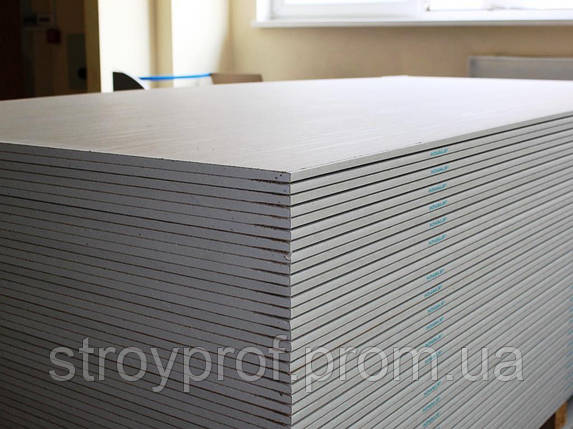 Гипсокартон стеновой Knauf 1,2м х 2,5м, 12,5мм, фото 2
