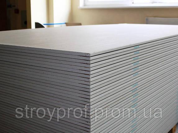Гипсокартон потолочный Knauf 1,2м х 2,5м 9,5мм, фото 2