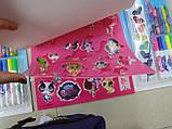 Набір-ПЛАНШЕТ, ПОНІ, для малювання, розмальовки, фломастери, крейда, фарби, наклейки, фото 9