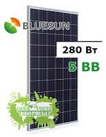 Bluesun Solar BSM280P-60/5BB 280 Вт солнечная панель (батарея, фотомодуль)