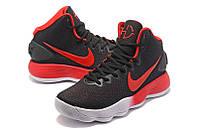Мужские баскетбольные кроссовки Nike Hyperdunk 2017 (Black/Red/White), фото 1