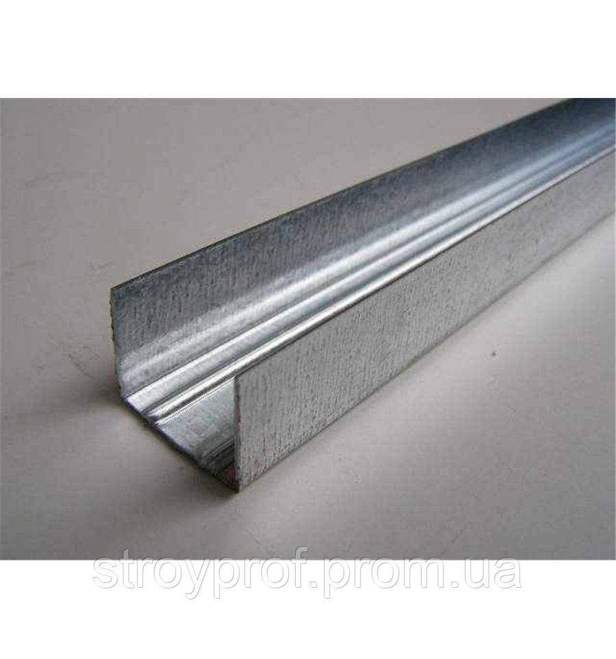 Профиль для гипсокартона UD-27, 0,4мм, 4,0м