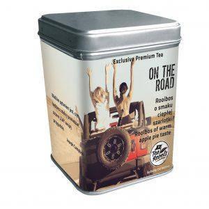 Чай ройбуш со вкусом шарлотки On the road Tea Rebels, 65г, фото 2