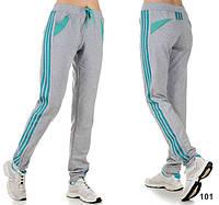 Спортивные трикотажные штаны женские  (р.46-52)