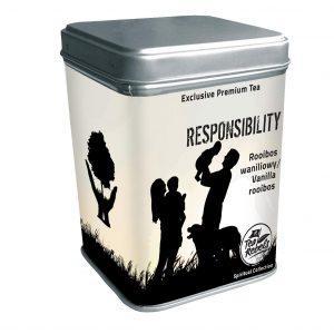 Чай ройбуш с ванилью Responsibility Tea Rebels, 65г