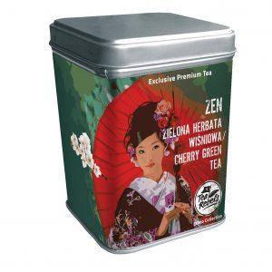 Чай зеленый Сенча с вишней Zen Tea Rebels, 135г, фото 2