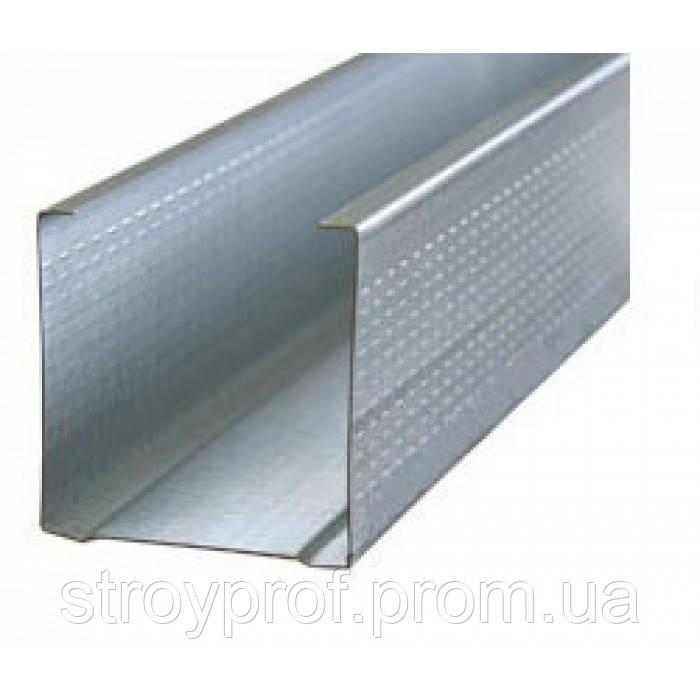 Профиль для гипсокартона CW-75, 0,4мм, 3,0м