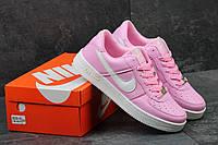 Женские кроссовки Nike Air Force есть в цветах код 2720 світло рожеві