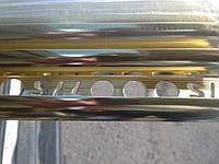Наружный алюминиевый угол под плитку 10мм ( НАП -10) ХРОМИРОВАННЫЙ.