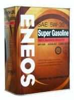 Синтетическое моторное масло ENEOS SM 5W-30, 4 литра