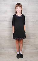 Детское платье французский трикотаж на рост 104-110 см, фото 1