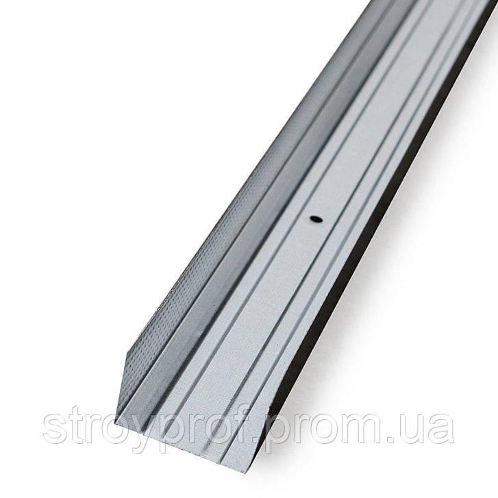 Профиль для гипсокартона UW-75, 0,4мм, 4,0м