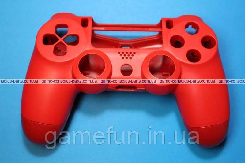 Корпус джойстика PS4 Dualshock 4 JDM-040 (Червоний) (Преміум)