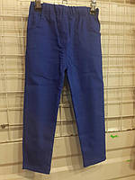 Брюки стрейч-коттон, джинс, для мальчиков и девочек, 92-116 размеры