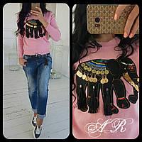 Женский стильный свитер,2 цвета