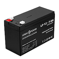 Свинцово-кислотный аккумулятор батарея LogicPower AGM LP 12v - 7,0 AH