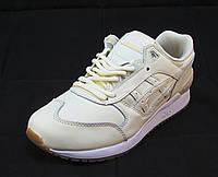 Кроссовки женские Asics кожаные белые (асикс) (р.38,39)