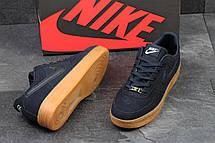 Мужские кроссовки Nike Air Force темно синие замшевые 44р, фото 3