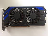 Игровая видеокарта для компьютера MSI GTX650Ti Boost 2gb 192bit GDDR5 (N650ti BE Hawk)