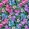Распродажа Ткань халатная 107053 Фланель (ПАК) хал. 20-1055 150СМ