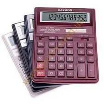 Калькулятор бухгалтерский Daymon 777 красный