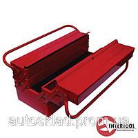 Ящик для инструментов металлический Intertool HT-5047 - 450мм, 7 секций
