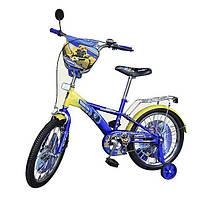 """Детский двухколесный велосипед Transformers 14"""""""