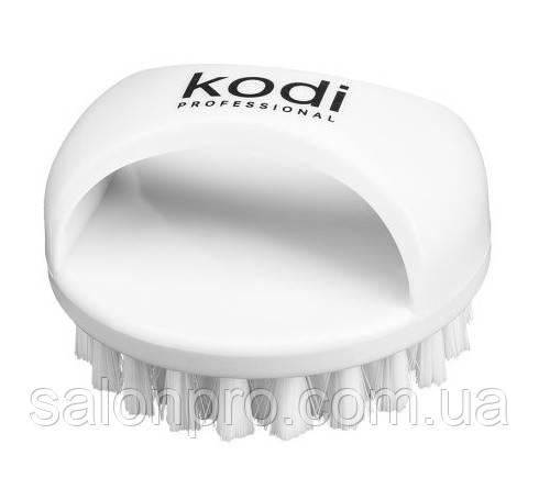 Щетка Kodi Professional для удаления пыли с ручкой круглая, белая