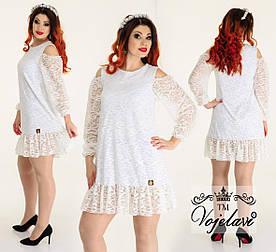 Платье женское 48+ арт 55371-92