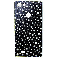 Чехол бампер для телефона Nomi (Номи) i5031 EVO X1 Звезды