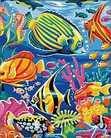Картина по номерам Подводный мир КНО007 Идейка