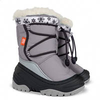 Зимові чобітки (зимние дутики) Demar Fuzzy сірий