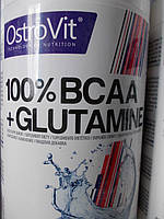 BCAA + Glutamine Аминокислоты OstroVit  500 г. (Польша)