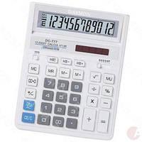 Калькулятор бухгалтерский Daymon 777 белый