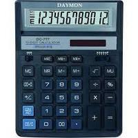 Калькулятор бухгалтерский Daymon 777 черный