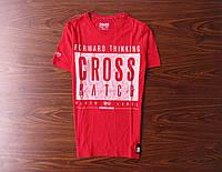 Классная мужская фирменная футболка Cross Hatch (S)