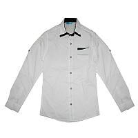 Рубашка школьная для мальчика 10-13лет (140-158) арт.511
