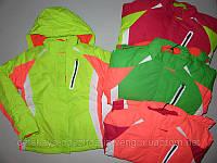 Лыжная курточка со съемной флисовой кофтой для девочек Glo-story оптом,134/140-170 рр.