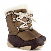 Зимові чобітки (зимние дутики) Demar Joy коричневий