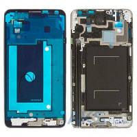 Передняя панель корпуса (рамка дисплея) Samsung N9000 Note 3 Grey