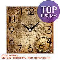 Настенные Часы Panorama Карта и Компас / Настенные часы