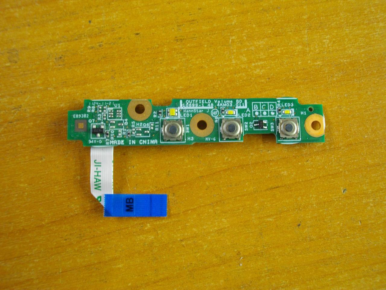 Плата 48.4KM03.011 с кнопками и инликацией HP EliteBook 2760p