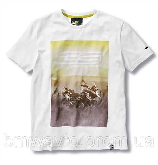 Мужская футболка BMW Motorrad R 1200 GS T-Shirt, Men, White