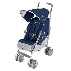 Детская  коляска трость Maclaren Xt Blue-Silver
