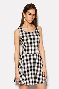 (S / 44) Жіноче молодіжне плаття-міні у клітку Kary Розпродаж