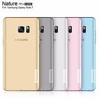 Чехол для Samsung Galaxy Note 7 N930 - Nillkin Nature TPU case, разные цвета