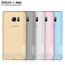 Чехол для Samsung Galaxy Note 7 N930 (2016) - Nillkin Nature TPU case, разные цвета