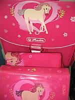 Ортопедичский рюкзак Herlitz Smart Lovely. Рюкзак Германия Herlitz с наполнением для девочки