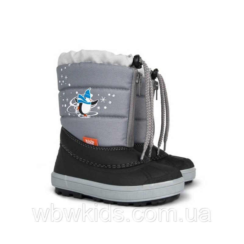 Зимові чобітки (зимние дутики) Demar Kenny 2 сірий