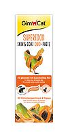 Паста Gimcat Superfood Digestion Duo Paste для кожи и шерсти кошки с курицей и папайя, 50 г